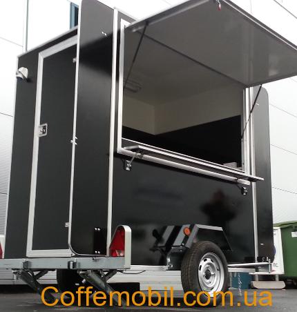 Мобильная кофейня на базе прицепа