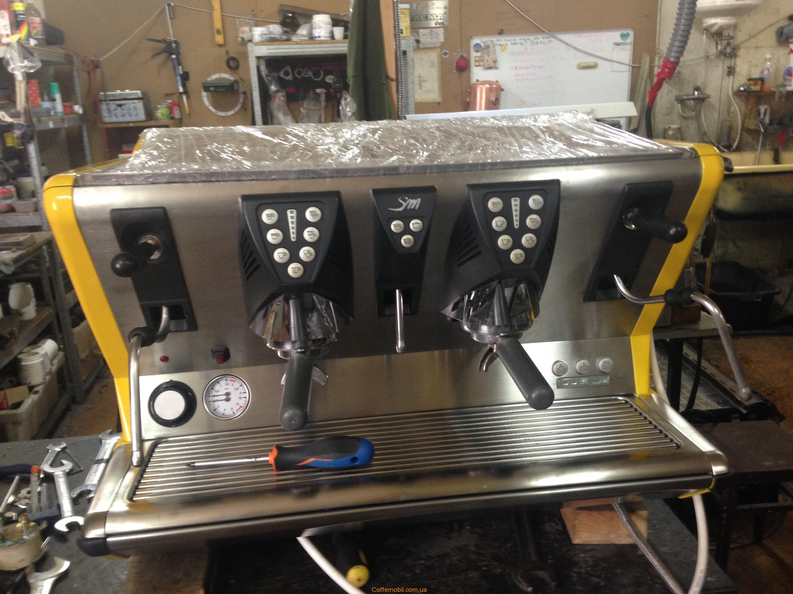 Профессиональная кофемашина San Marco 100e
