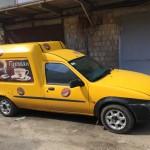 Мобильная Кофейня ford courier