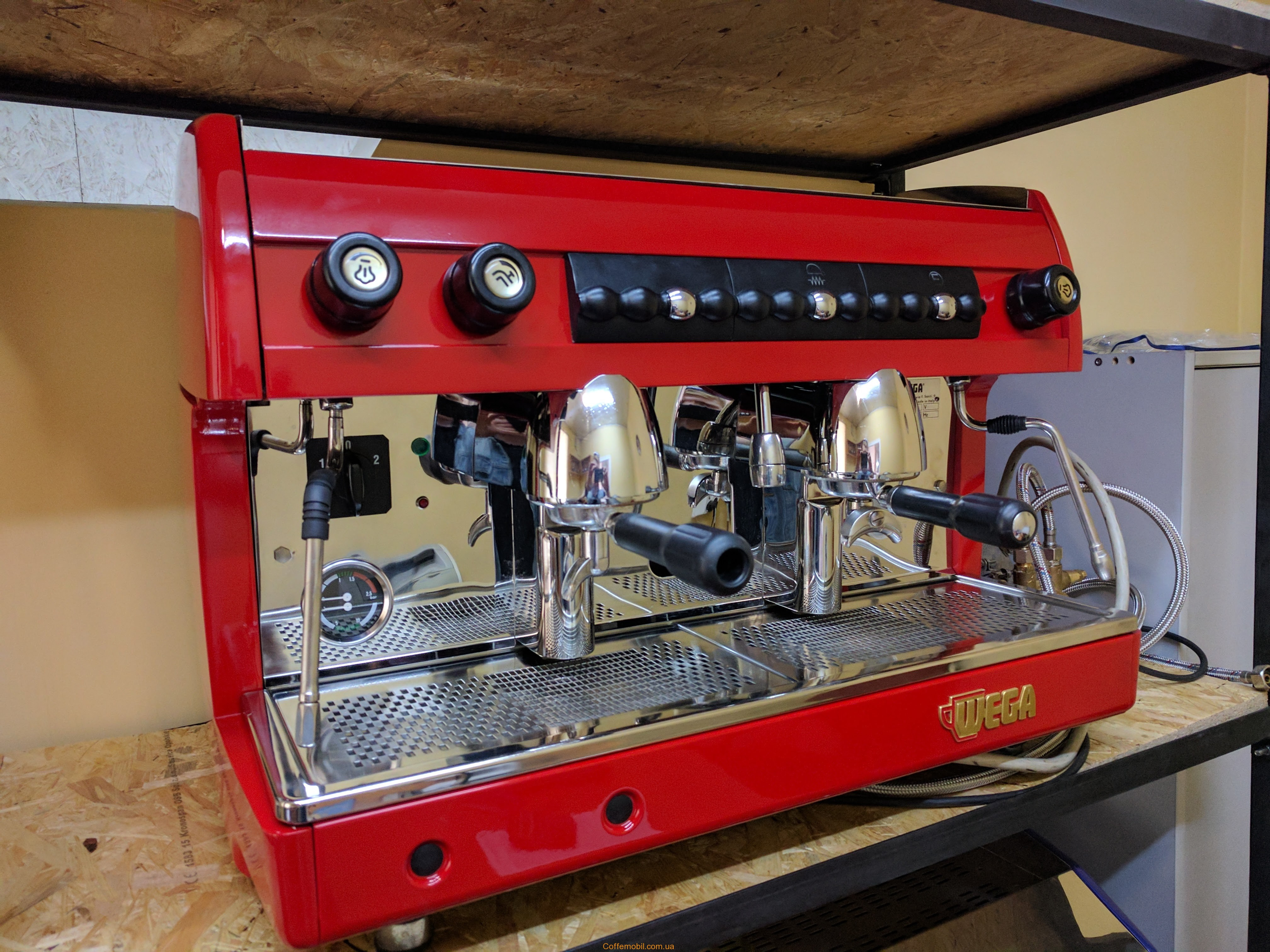 Профессиональная кофеварка Wega Sphera 2gr