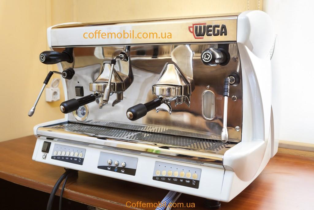Купить профессиональную кофеварку Wega Vela Vintage