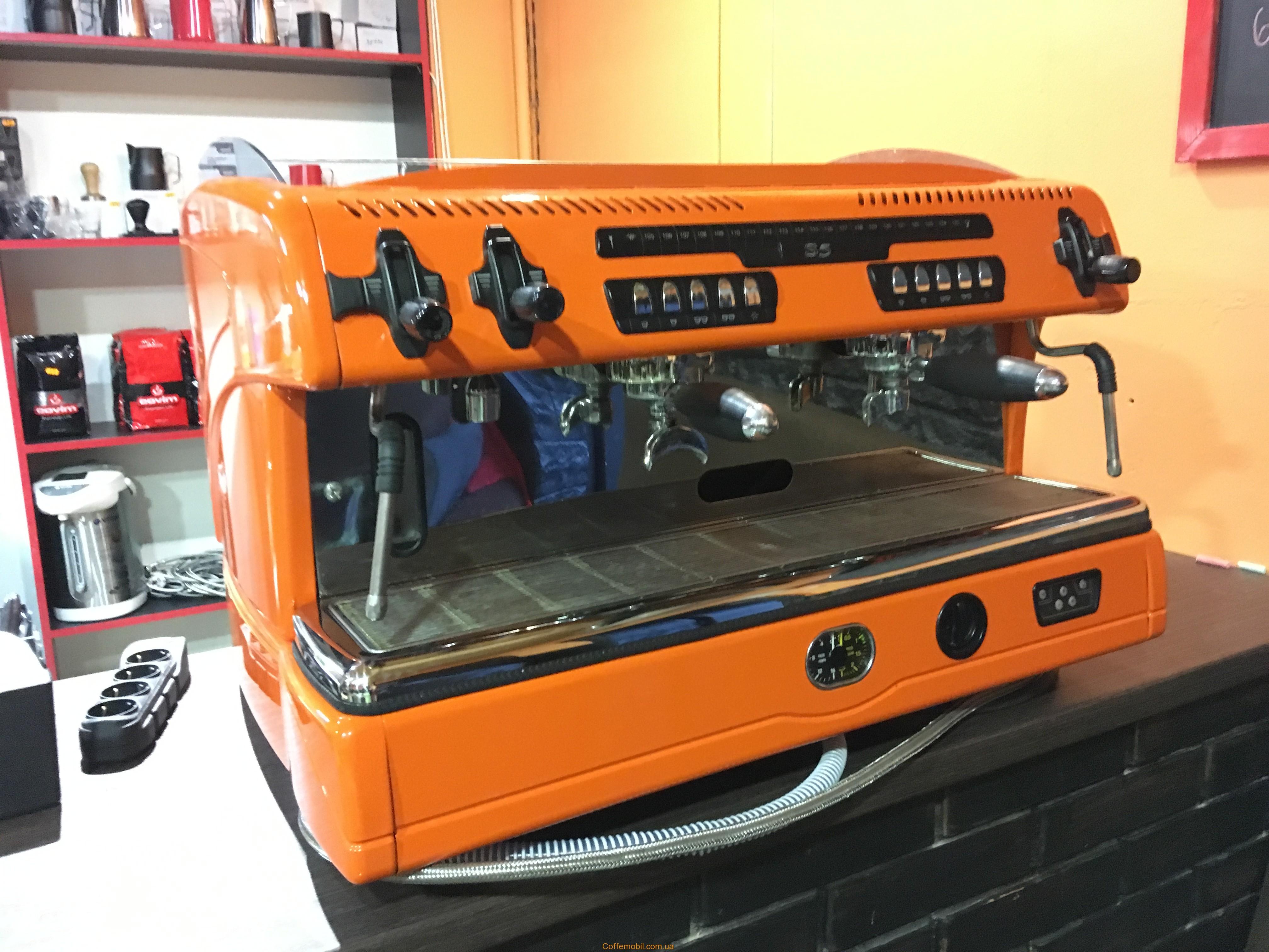 бу профессиональная кофеварка La Spaziale s5 цена