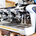 професиональная кофеварка (кофемашина) faema emblema