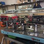 Профессональная кофеварка Wega CMA на 3 группы