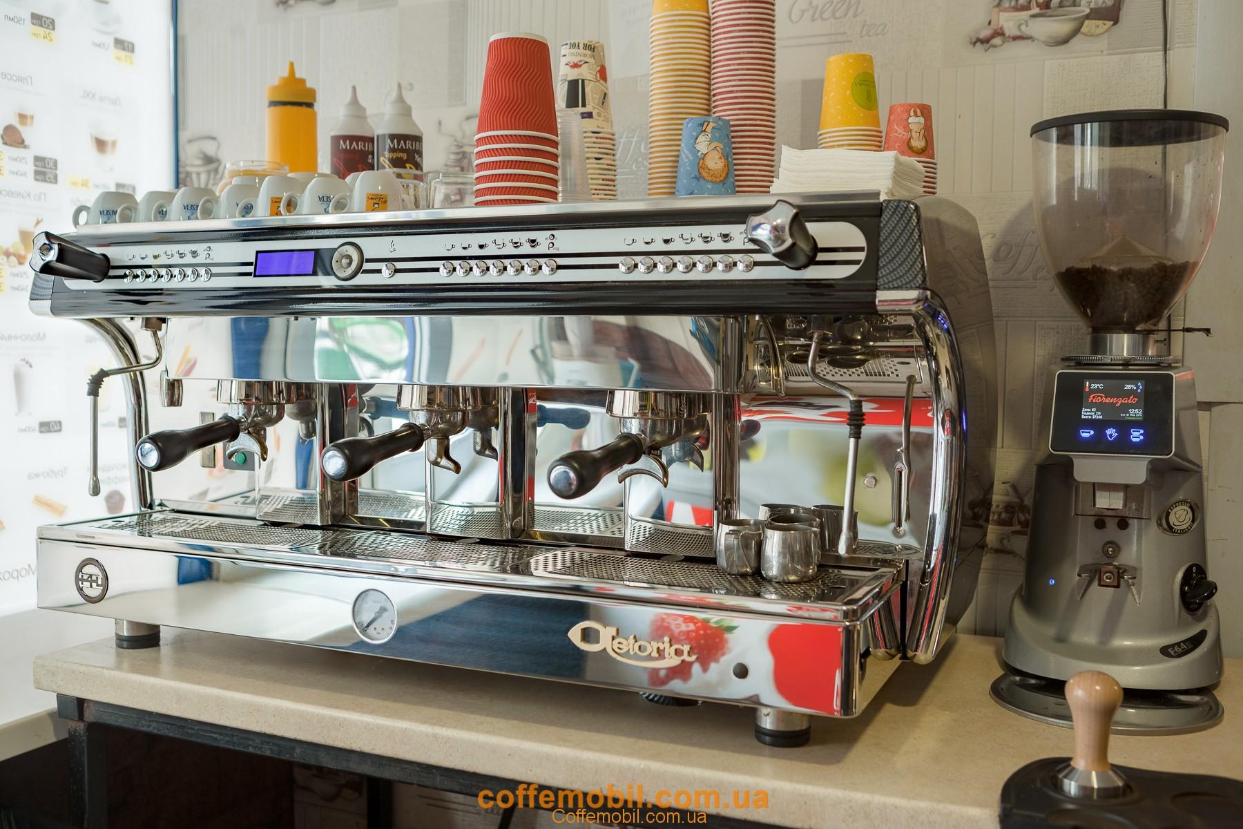професійна кавоварка astoria +4u