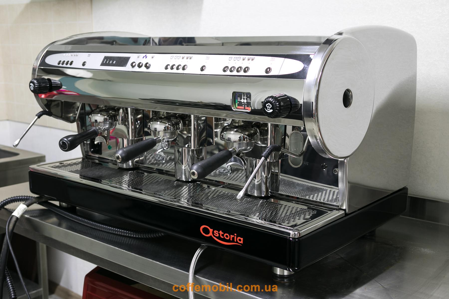 Профессиональная кофемашина Astoria Lisa 3gr