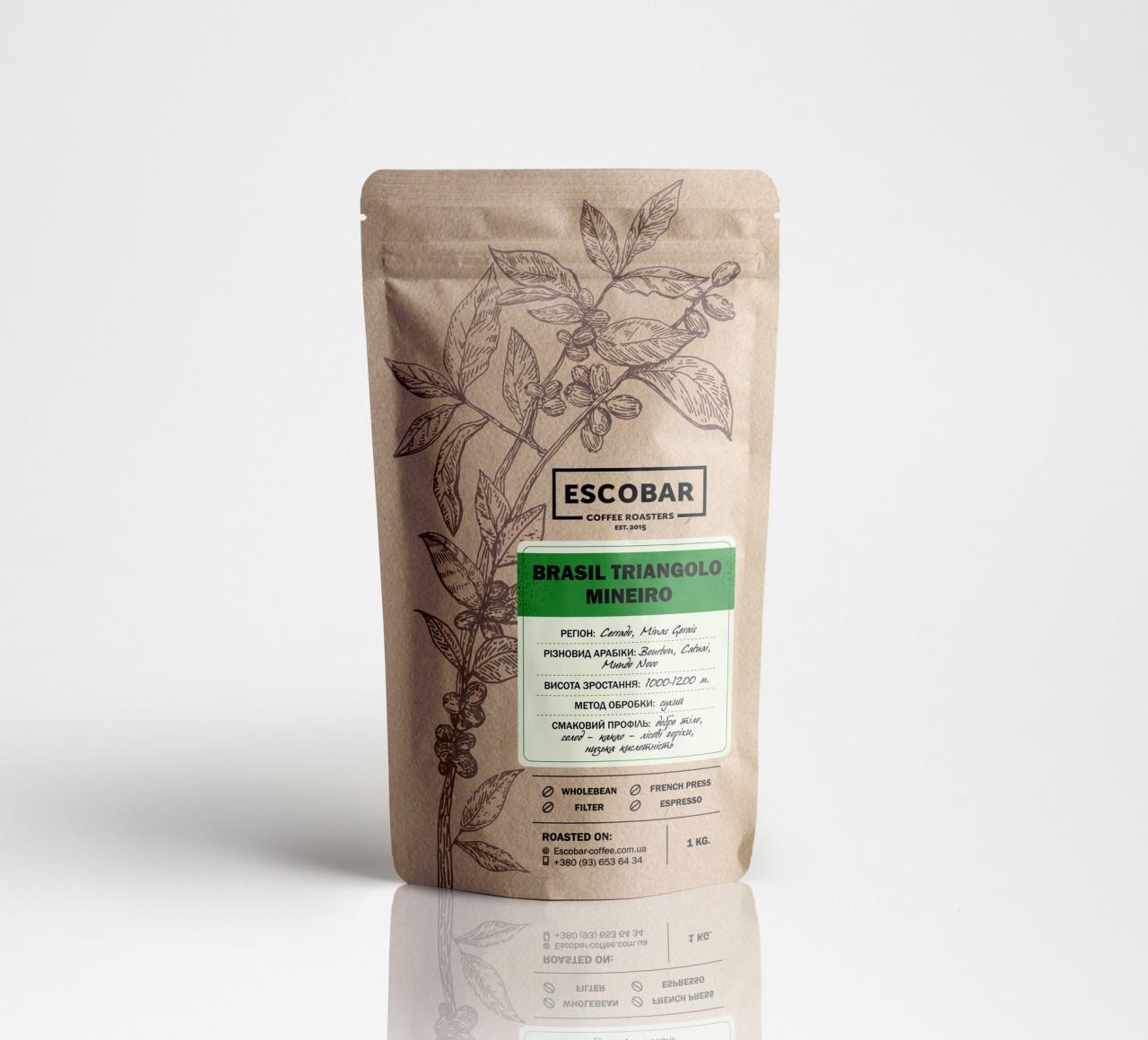Кофе Эскобар Бразилия Трианголо Минеиро