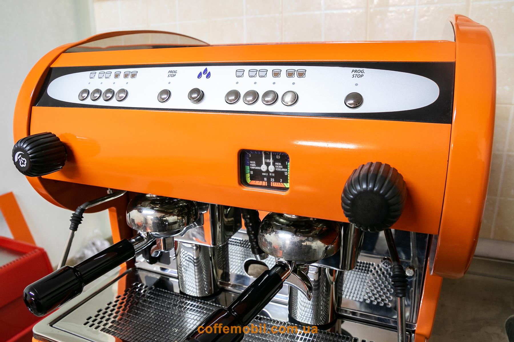 профессиональная кофеварка CMA Astoria Lisa 2gt compact