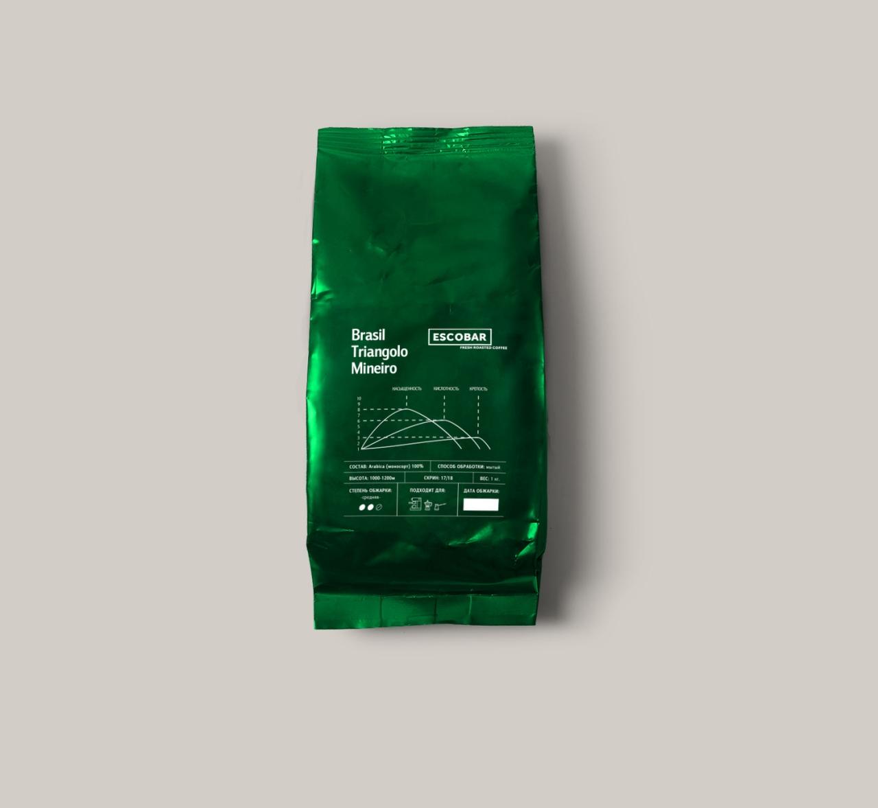 кофе Бразилия Трианголо Минейро арабика