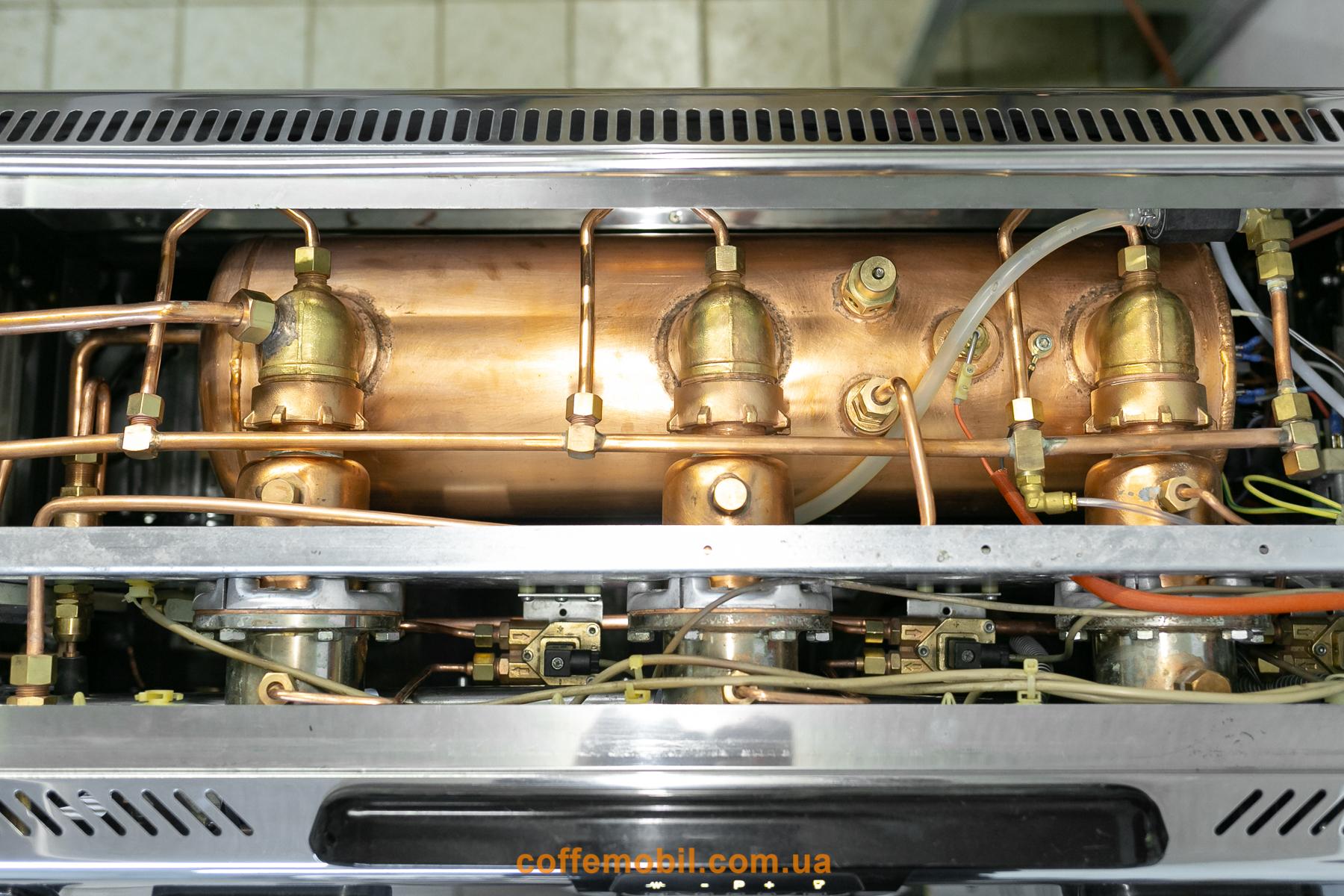 Кофеварка Spaziale S9 после реставрации