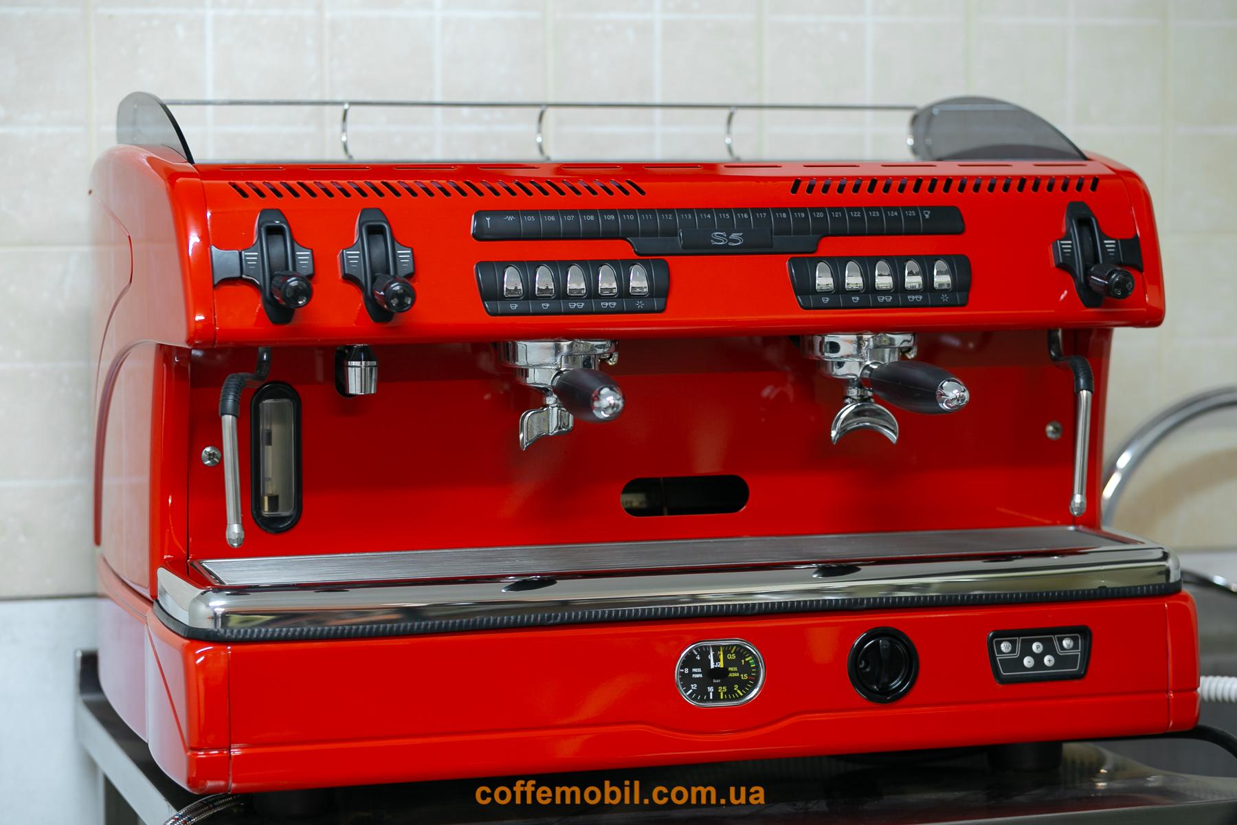 Профессиональная кофеварка Spaziale s5 2gr