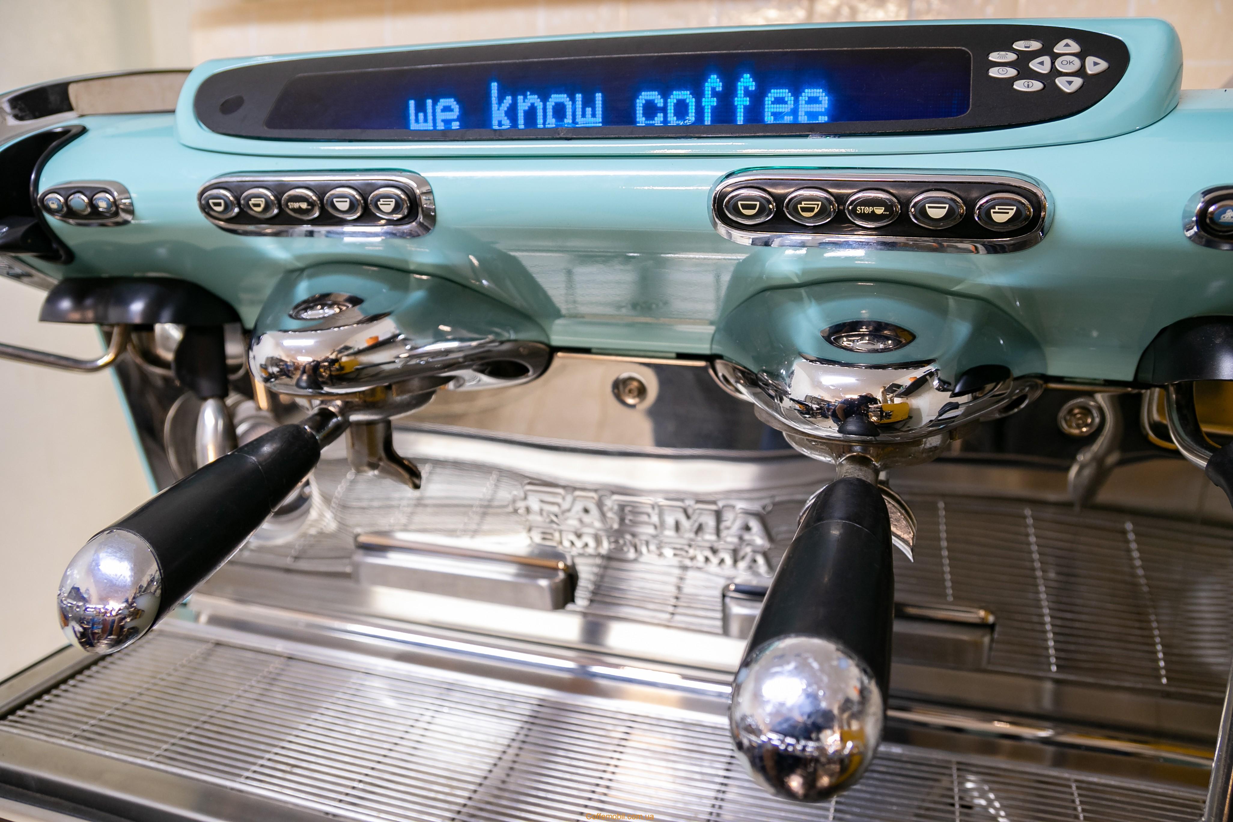 Профессиональная кофеварка Emblema