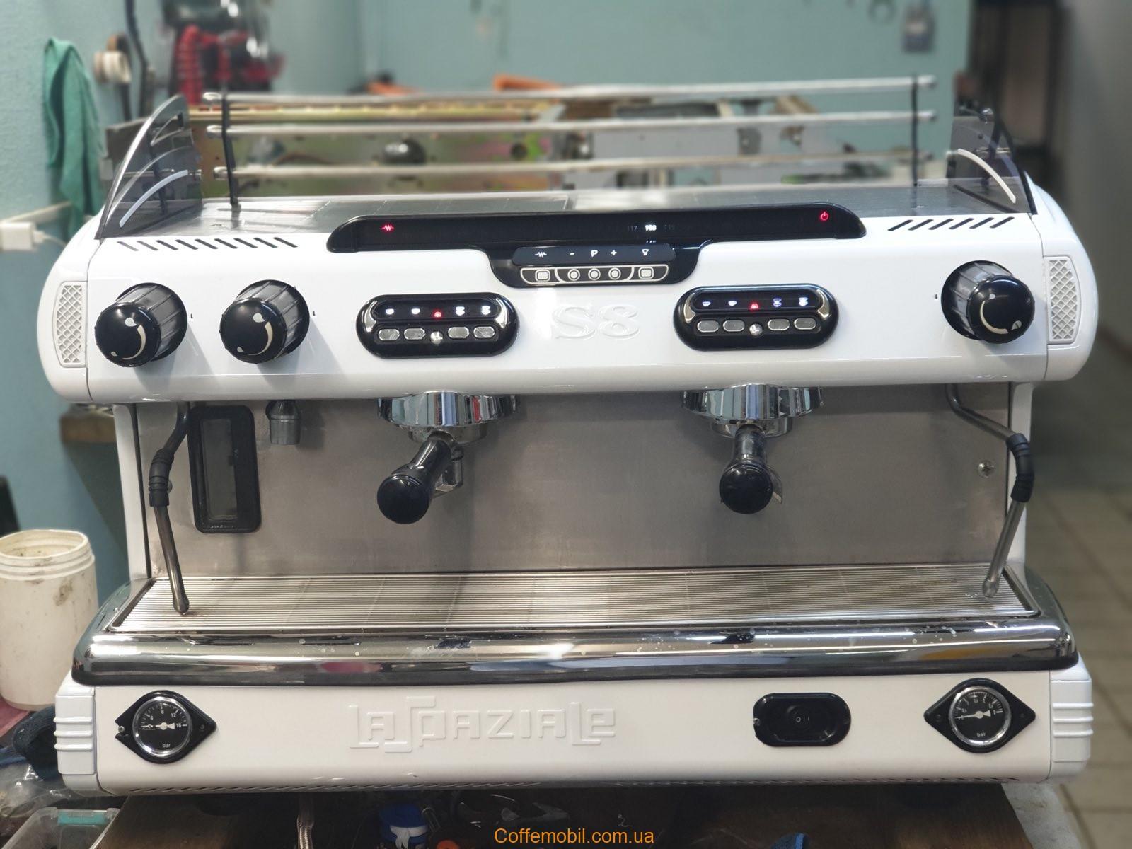 Профессиональная кофеварка Spaziale s8 2gr